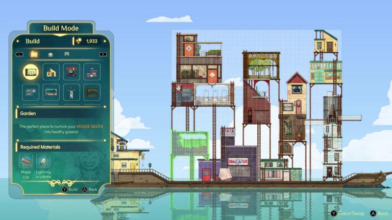 Spiritfarer Build Mode