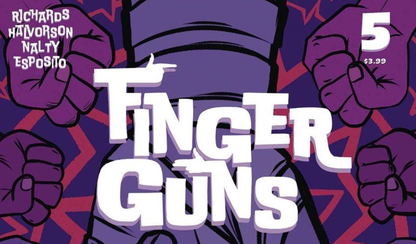 Finger Guns, Vault Comics, Indie Comics