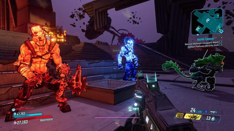 Psycho Krieg - Borderlands 3 DLC