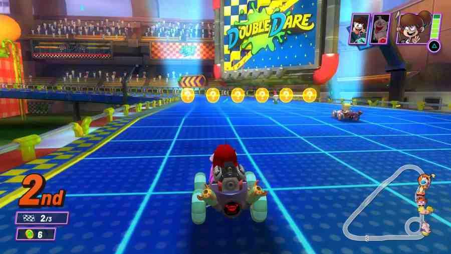 Nickelodeon Kart Racers 2 Gameplay