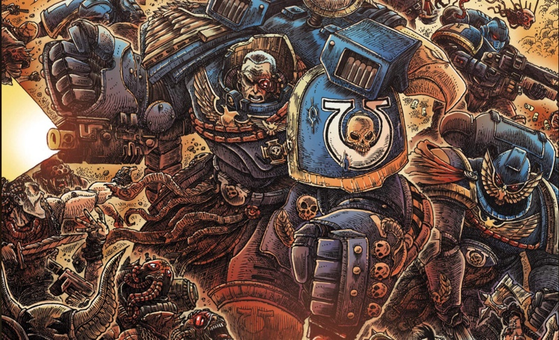 Warhammer 40K: Marneus Calgar #2
