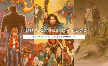 Top Comics of 2020
