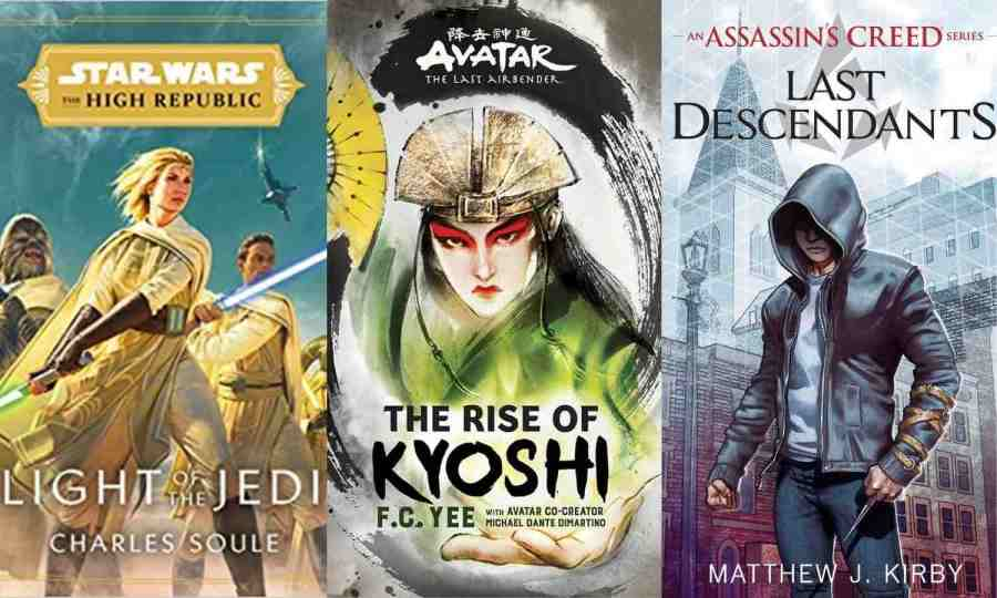 Why I've Basically Only Read Tie-In Literature and Myth-Based Stories This Year