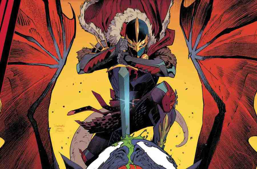 King in Black Black Knight #1 - But Why Tho?