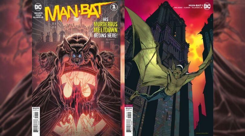 Man-Bat #1 Preview Cover