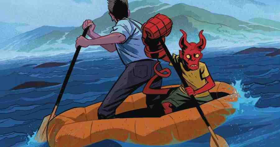 Young Hellboy: The Hidden Land #1 - But Why Tho?
