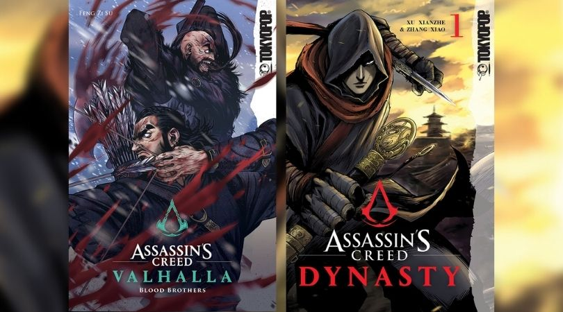 Assassin's Creed Dynasty and Valhalla: Blood Brothers Manhua