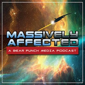 Massively Affected - A Bear Punch Media Podcast Logo