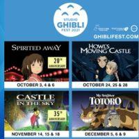 Studio Ghibli Fest Returns In 2021