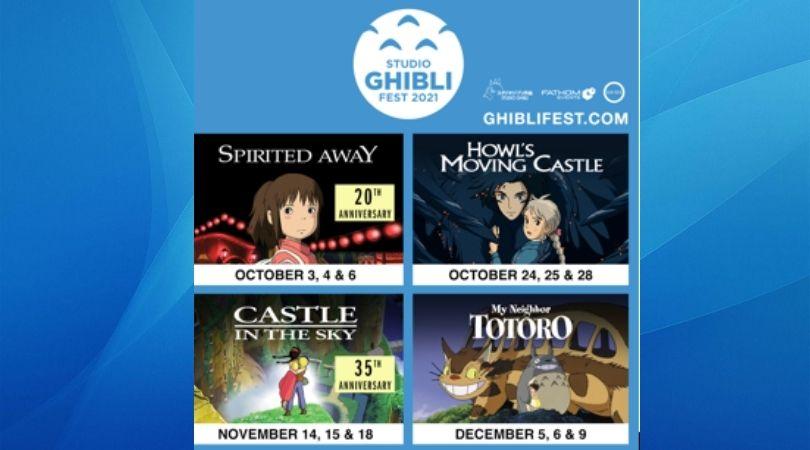 Studio Ghibli Fest 2021