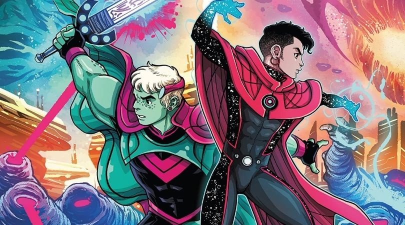 The Last Annihilation Wiccan and Hulkling #1