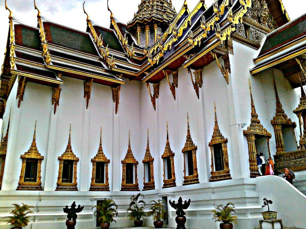one of the throne halls at the Grand Palace in Bangkok, Thailand