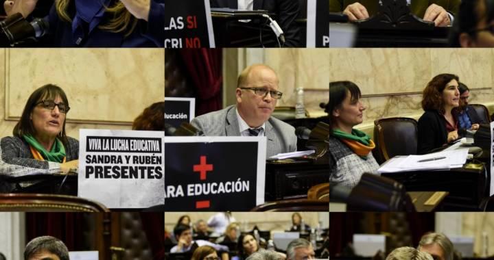 Cambiemos bloqueó la sesión: el diputado Alfredo Olmedo no agarró la pala