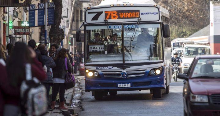 SAETA: Gobierno autorizó suba del 28% y el boleto costará $32 en Capital