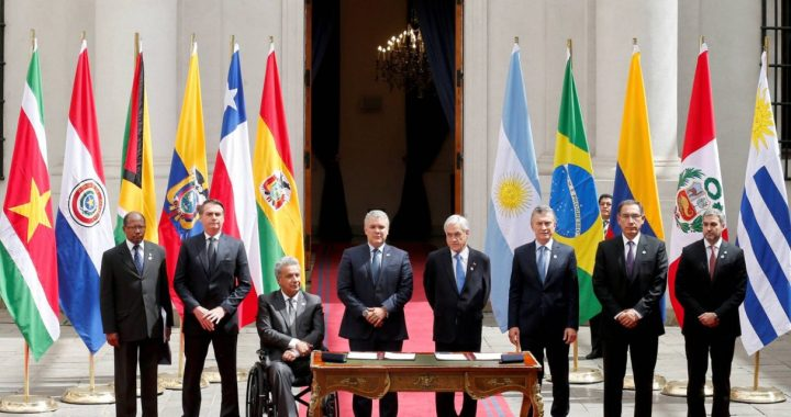PROSUR: El nuevo bloque geopolítico para América del Sur que impulsa EEUU