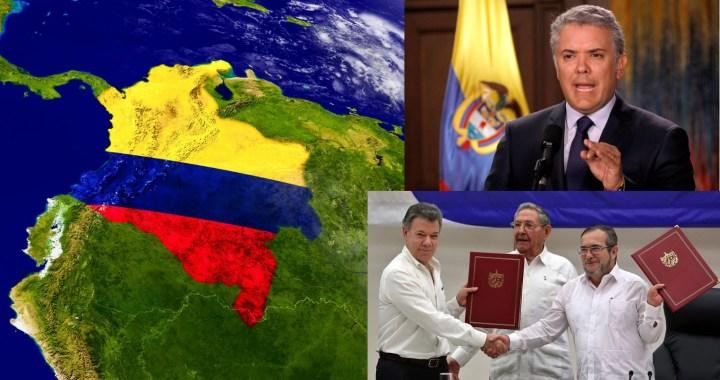 Crisis política en Colombia: Iván Duque y los tratados de paz.