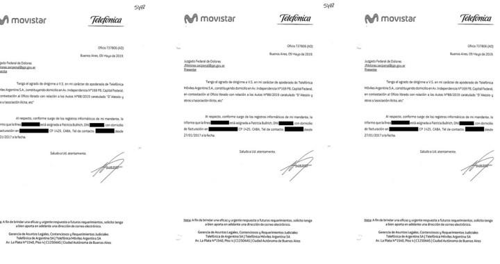 Movistar confirmó el vínculo entre D'Alessio y Patricia Bullrich