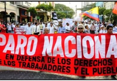 ECUADOR: Paro Nacional en contra de las políticas del Presidente Moreno