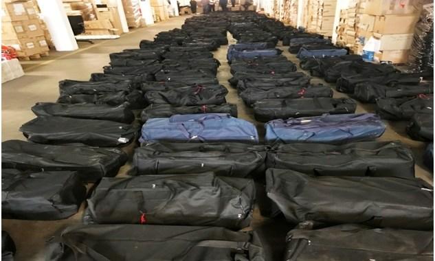 HAMBURGO: Incautan el mayor cargamento de cocaína de la historia de Alemania en un buque procedente de Uruguay