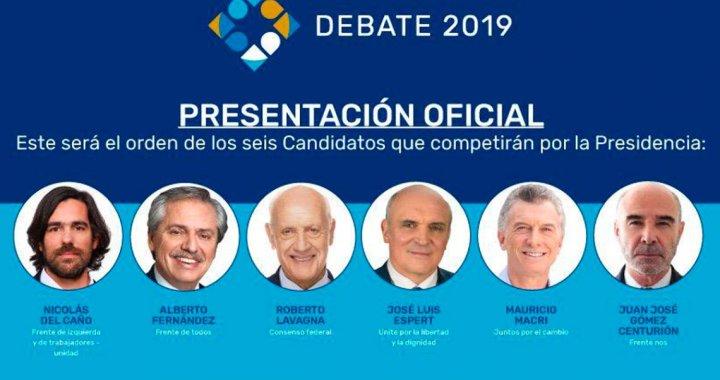 Lo que dejó el Debate Presidencial: ¿Qué dijo cada candidato?