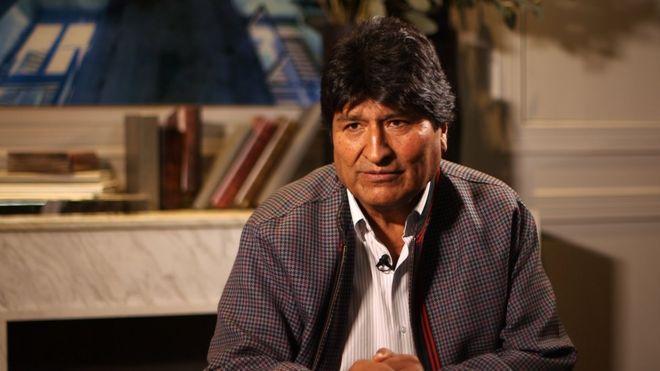 Impiden la candidatura de Evo Morales al Senado de Bolivia