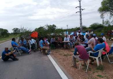 Chaco Salteño: Sigue el corte en ruta 81 por la sequía y Gobierno brilla por su ausencia
