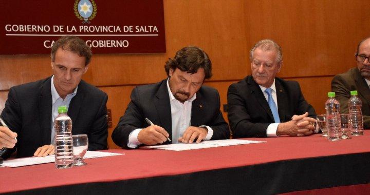 Nación asistirá con fondos a Salta para hacer obras en el interior