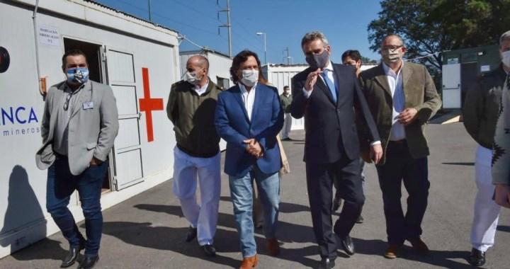 Nación repartió insumos al Hospital Militar de Salta y monitoreó rol de las Fuerzas Armadas