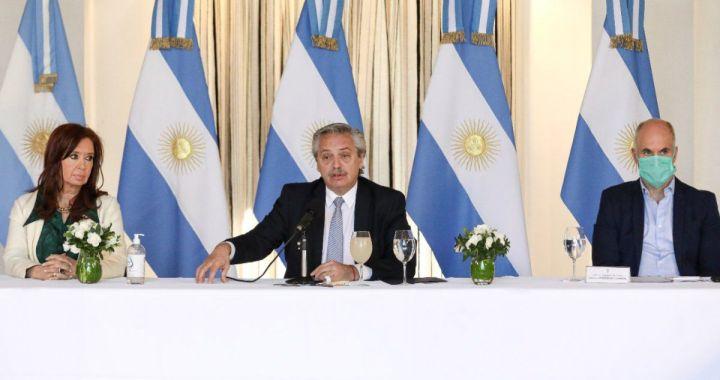 Los gobernadores respaldan la negociación de la deuda externa que lleva adelante Nación