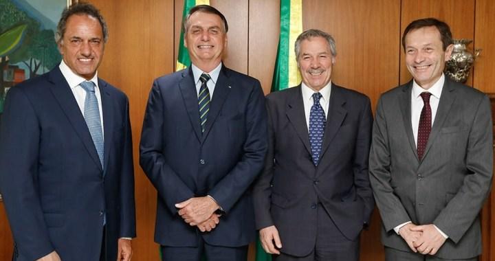 El Gobierno oficializó la designación de Daniel Scioli como embajador en Brasil