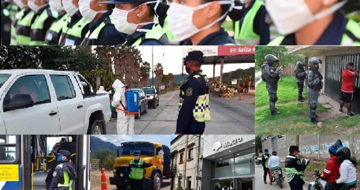 La Policía detuvo a más de 15 mil personas «por incumplir cuarentena» en Salta