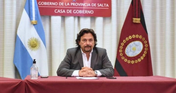 """Sáenz: """"Insistiremos para bloquear y blindar nuestras fronteras, garantizando la salud de la gente"""""""