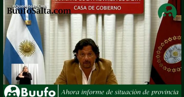 Salta no vuelve a Fase 1 y el Gobierno pide «Cuarentena «Administrada»
