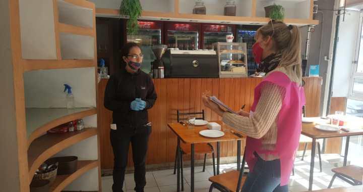 Estrictos controles en la Ciudad a locales gastronómicos y deportivos