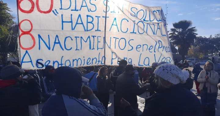 Toma en Parque La Vega: Reclaman al Gobierno soluciones habitacionales