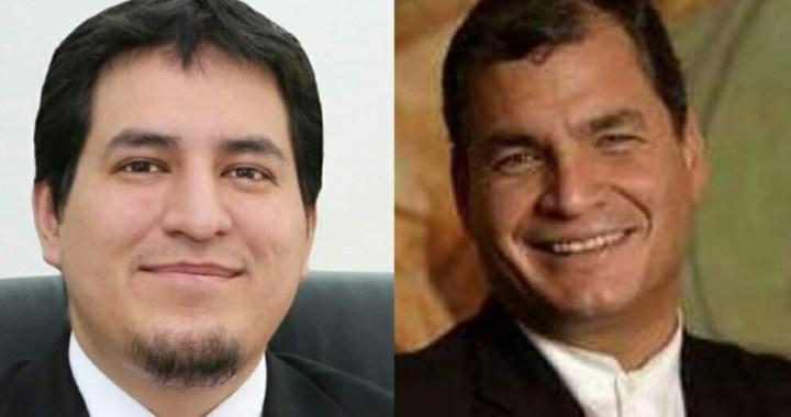 Ecuador: Rafael Correa será candidato a vicepresidente junto a Andrés Arauz