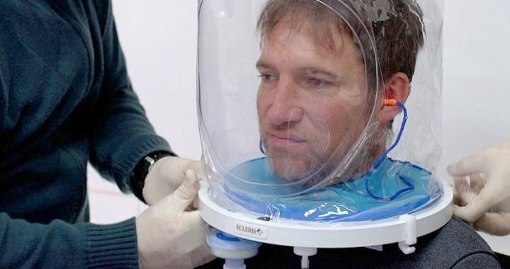Salta incorpora cascos para ventilación para tratar a pacientes con Covid-19