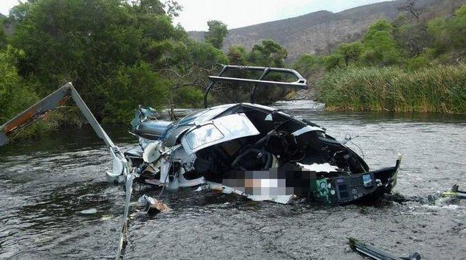 Confirmado: el helicóptero del banquero Jorge Brito chocó la tirolesa, que sí estaba señalizada