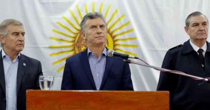 A casi 3 años del hundimiento del ARA San Juan, piden investigar a Macri y su exministro Aguad