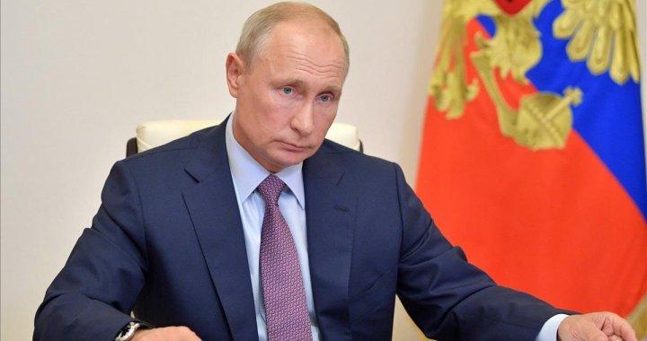 """Vladimir Putin: """"La vacuna contra el coronavirus debe ser propiedad común de la humanidad"""""""