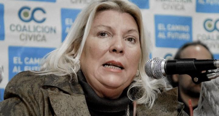 Denuncian penalmente a Carrió por acusar al Presidente de «envenenar a la población»