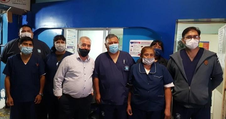 Hoy reabrió el centro de salud del mercado San Miguel