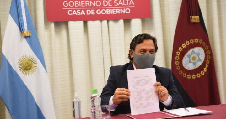 Sal de Oro: Sáenz y su par catamarqueño firmaron tratado especial