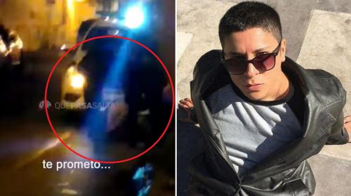 Los policías que detuvieron a Matías Ruíz lo esposaron y no le dieron ni un abrigo