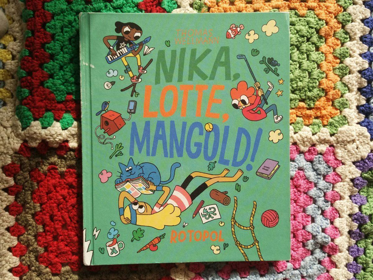 Nika, Lotte und Mangold!
