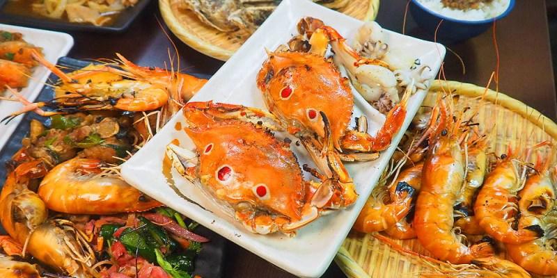 <台中龍井> 那兩蚵景觀餐廳,流水蝦吃到飽!吃流水蝦還能賞百萬夜景,真是一大享受!(台中流水蝦/台中夜景餐廳/試吃)