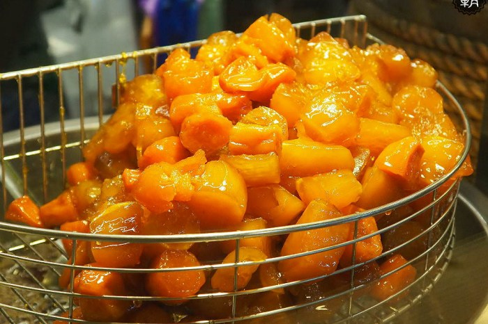 <台中甜點> 蜜藏地瓜,第二市場蜜糖地瓜,軟Q香甜的古早味甜點,蜜透入心!