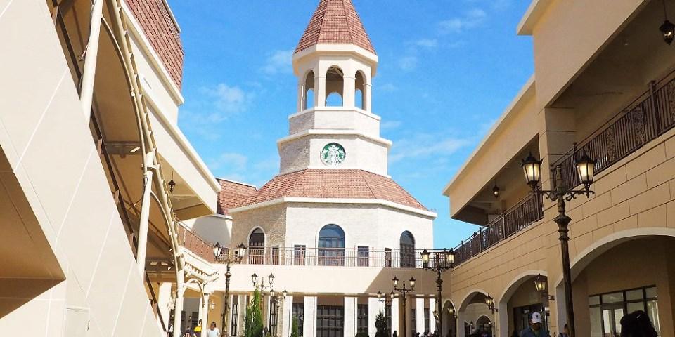 <台中百貨> 麗寶Outlet Mall二期,全台首座歐風湖邊Outlet商場,結合飯店、遊樂園、摩天輪更熱鬧!