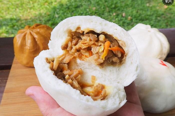 <台中小吃> 阿榮肉包,鮮肉包、素菜包只要10元,甜的鹹的包子饅頭通通均一價!