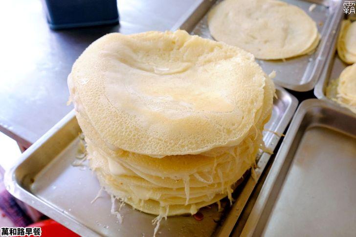 20210124163716 10 - 軟Q麵糊蛋餅,南屯老街萬和路無名早餐店,手工蛋餅皮煎個不停!